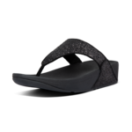 Fitflop Lulu Glitter Toe-Thongs Black Mt. 37-43