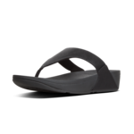 Fitflop Lulu Shimmer Toe Post Black
