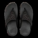 Fitflop Lulu Glitter Toe-Thongs Black Mt. 37-43