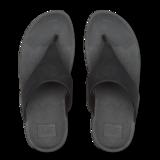 Fitflop Lulu Shimmer Toe Post Black