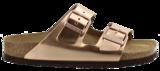 Birkenstock Arizona Metallic Copper Zacht Voetbed 752723