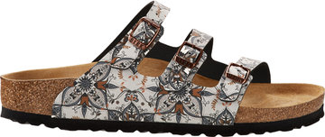 Birkenstock Florida Boho Flowers Navy 1015993 Mt 35 - 42