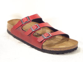 Birkenstock Florida Pull Up Bordeaux 1016821 Mt 37 - 43