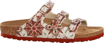 Birkenstock Florida Boho Flowers Earth Red 1015995 Mt. 37-42