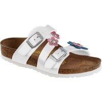 Birkenstock Salina Flower Pearly Wit 023333 Mt. 25
