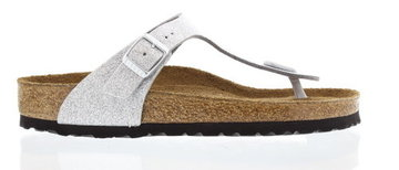 Birkenstock Gizeh Magic Galaxy Silver zacht voetbed 847461 Maat 43