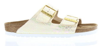 Birkenstock Arizona Shiny Snake creme 057623 Mt. 35-43