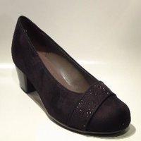 Jenny pump zwart 63682-01 H Maat. 4½ - 8½