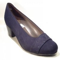 Jenny pump blauw 63682-02 H Maat. 3½ - 7½