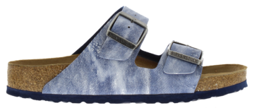 Birkenstock Arizona Jeans Washed Out Blue Zacht voetbed 1005353 Mt. 40-46