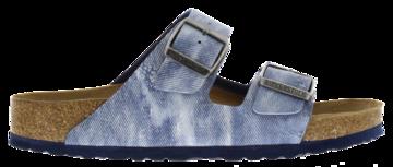 Birkenstock Arizona Jeans Washed Out Blue Zacht voetbed 1005353 Mt. 41-46