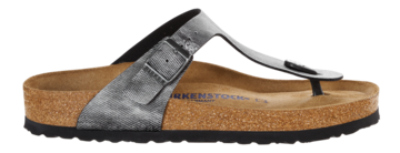 Birkenstock Gizeh Jeans Washed Out Grey Zacht voetbed 1005359 Mt. 38-39