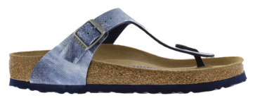 Birkenstock Gizeh Jeans Washed Out Blue Zacht voetbed 1005361 Mt. 38-40