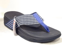 Fitflop Surfa Royal Blauw mix Mt. 40