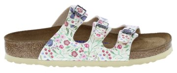 Birkenstock Florida Meadow Flowers Beige Zacht Voetbed 1012779 Mt. 36 - 43