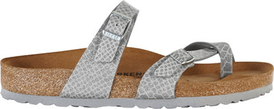 Birkenstock Mayari Magic Snake Silver 1009109