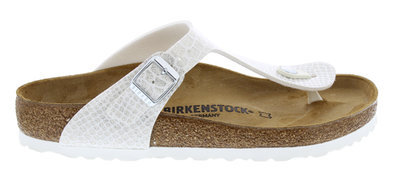 Birkenstock Gizeh Magic snake white 1009115